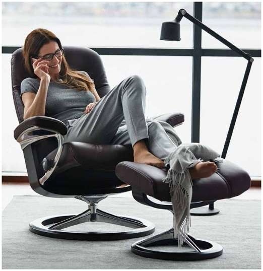 Choose The Stressless Wing Recliner And Save Money At Unwind.