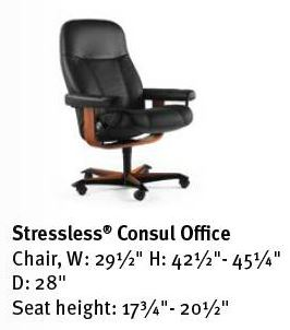 Consul- Stressless Office Chair