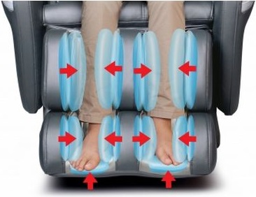 Concentrated Foot, Calf and Leg Massage- Osaki 7200CR