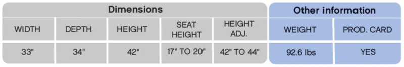 Himolla Sonata Recliner Dimensions & Weight Chart image