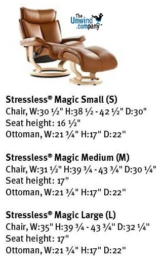 Magic Recliner Measurements