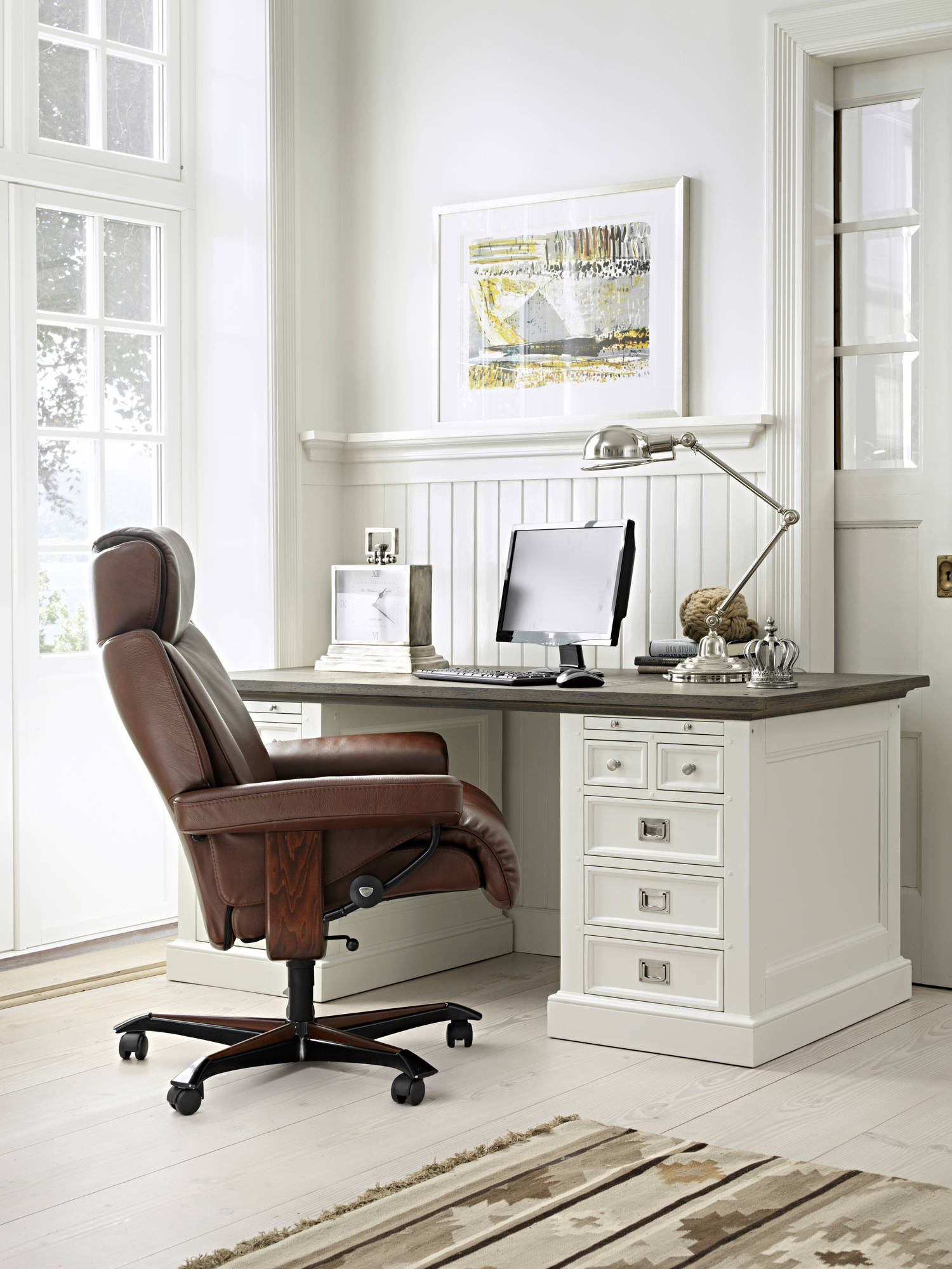 Chocolate Paloma Magic Office Chair