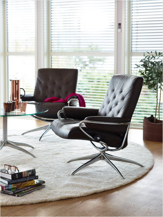 Metro low back chairs by Ekornes