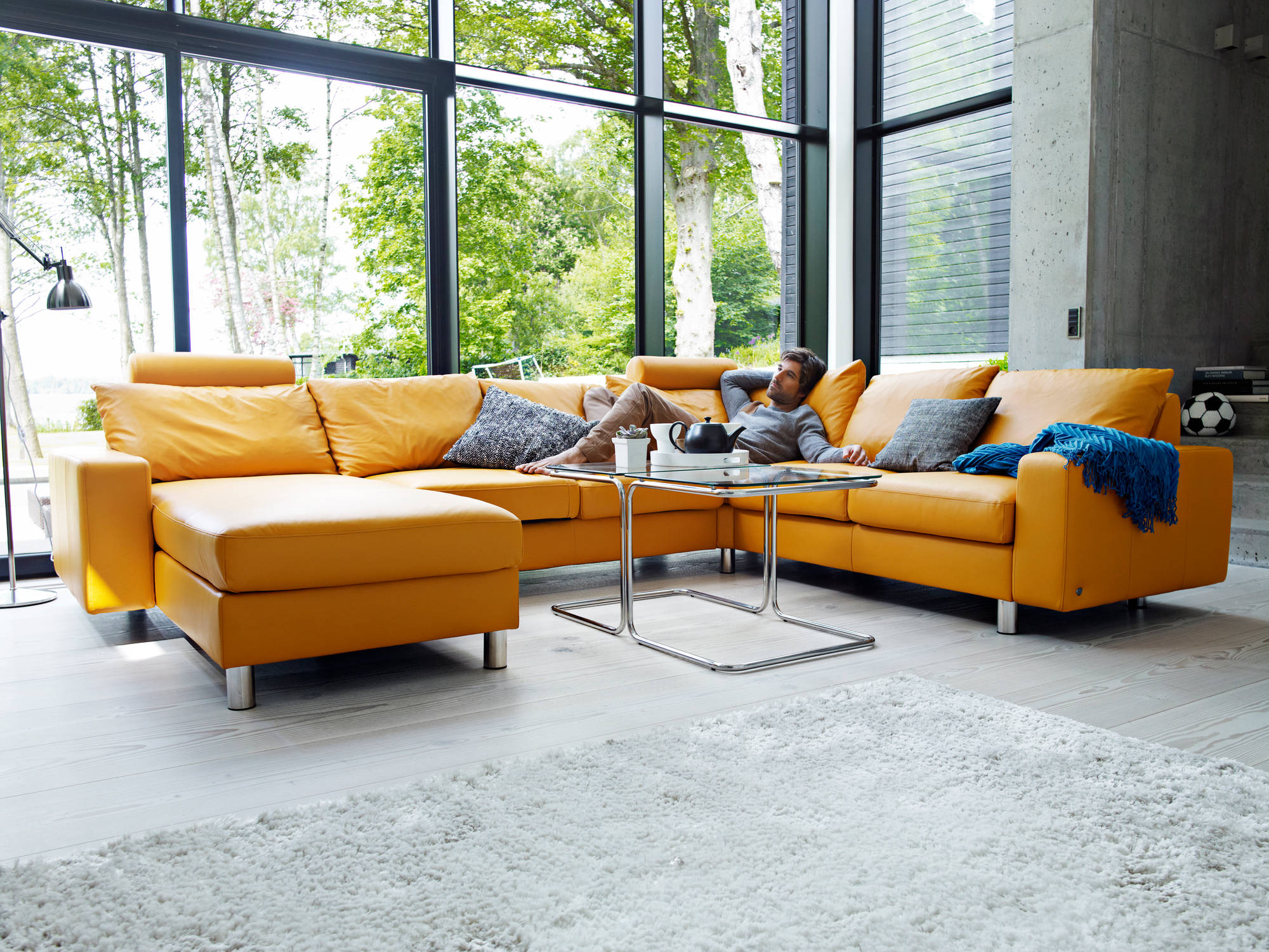 Home Theater Seating and Sectionals by Stressless Unwind