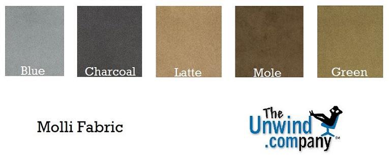 Molli Fabric for Ekornes Furniture Color Palette.