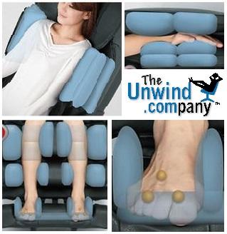 Osaki 4D Japan Pro Massage Chair- Air Massage Features.