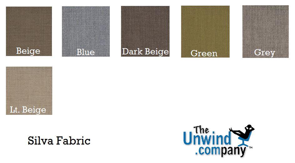 Silva Palette Colors for Ekornes Furniture.