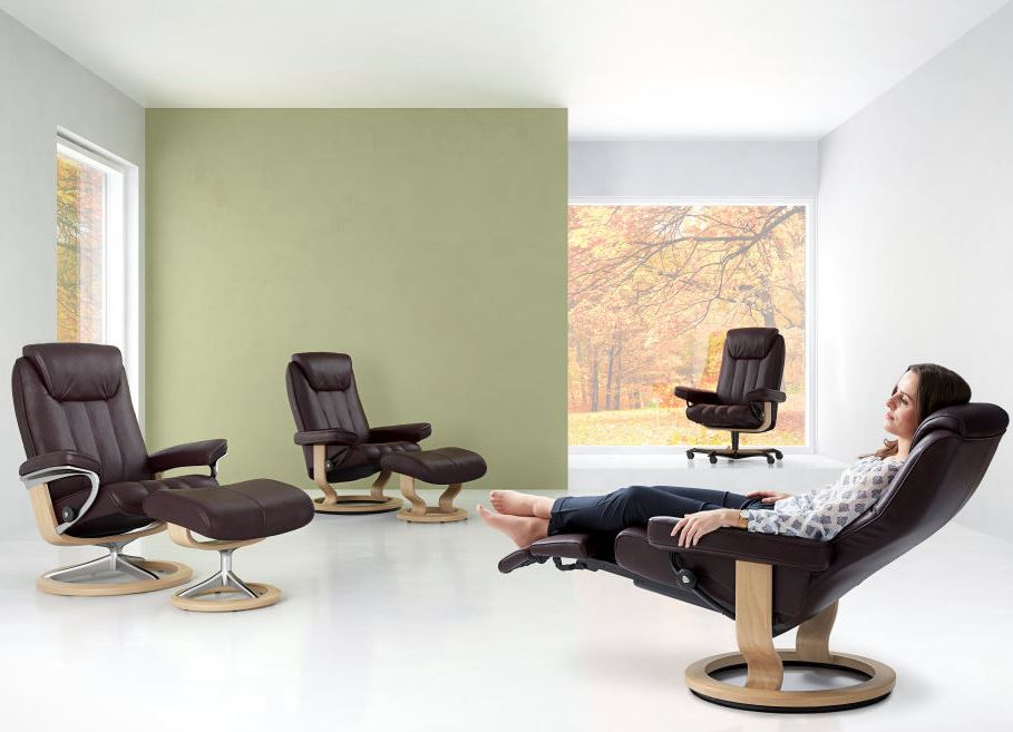 Get the best prices on Fully-Warranted Stressless Bliss Recliners.