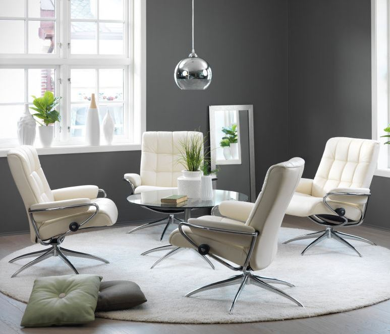 Stressless London Recliners help you relax and unwind.