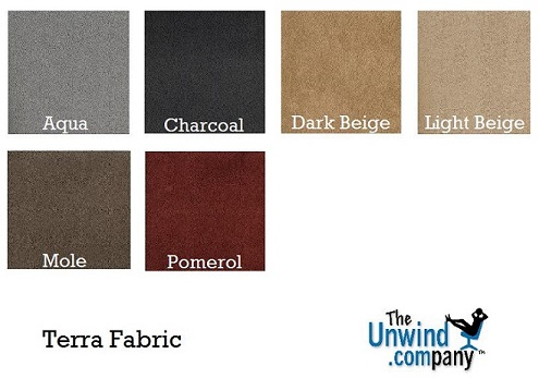 Terra Fabric Palette of colors for Ekornes Sofas and Recliners.