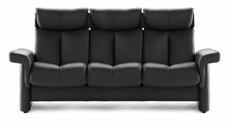 The Stressless Legend High-Back 3 Seat Sofa.
