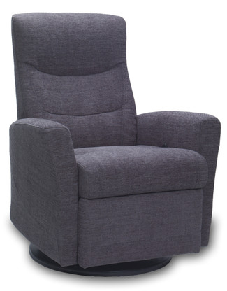 Oslo Swing Relaxer shown here in comfort cloth option.