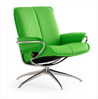 Summer Green Paloma shown on this City Low Back Recliner Chair.