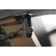 Stow the remote when not in use! It easily adheres to the underside of your Perfect Chair armrest.