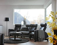 Black Paloma Stressless Arion - Bring the theater to your home!