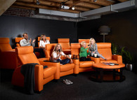 Stressless Arion - a complete theater seating solution.