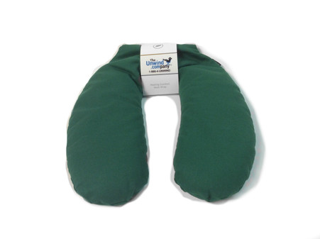 Green Cotton shown on this ultra-relaxing Aromatherapy Neck Wrap.