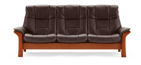 Stressless Alternative stressless sofa buckingham high back 3 seat special