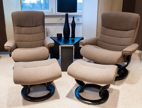 Choose Fabric on your next Nordic Recliner and Ottoman by Ekornes. & Ekornes Stressless Nordic Recliner and Ottoman- Ships Stress-free islam-shia.org