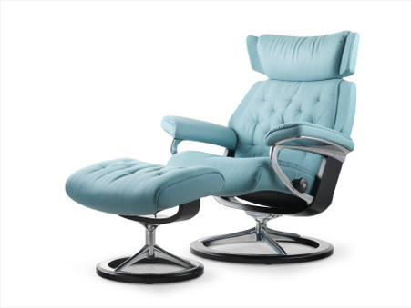 Aqua Calido Fabric- Ekornes Stressless Cooling Colors
