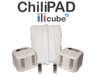 ChiliPad Cube version 1.1 from Chili Technology. It's time for the perfect mattress temperature.