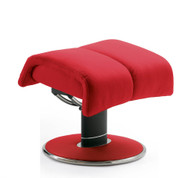 Pick Chili Red or any other color for an ottoman to match your Blues Office Chair.