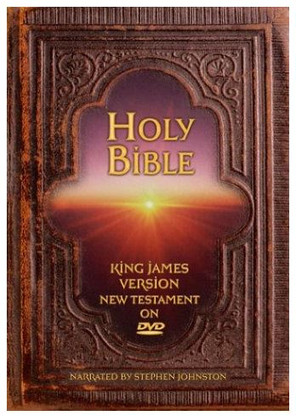 The Holy Bible DVD- narrated by Stephen Johnston.