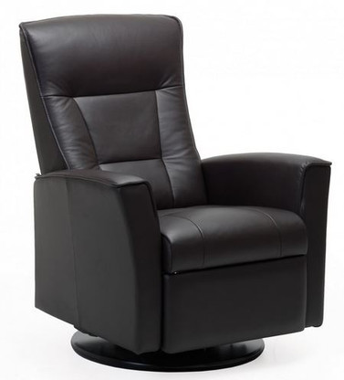 Large Size Fjords Ulstein Relaxer with Power Recline Feature.
