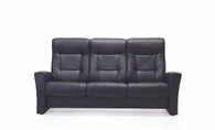 Fjords 775 Aalesund FSH 3 Seater Sofa with High Backs and Reclining Seats.