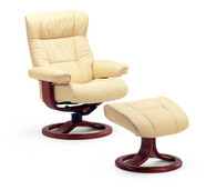 Fjords Manjana Recliner with Footstool- back-healthy furniture.