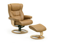 Brandal Recliner by Fjords- shown with DR Base option