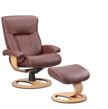 Fjords of Hjellegjerde Scandic Recliner shown with DR Base option.
