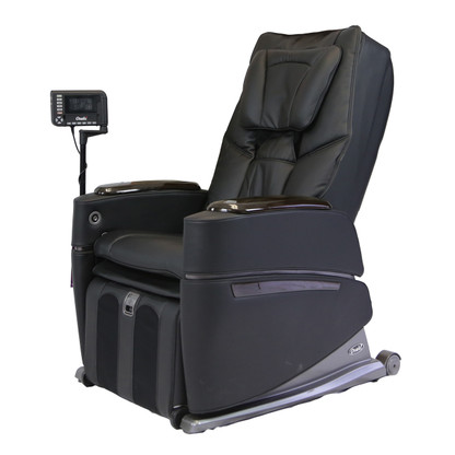 Black OS-PRO Intelligent Massage Chair by Osaki