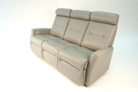 Fjords Madrid Relaxer Recliner Sofa- 2 outer reclining seats and 1 stationary center seat.