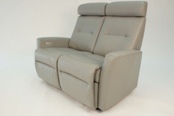 Fjords Madrid Loveseat- Features 2 fully-independent seats that both feature a powered recline.