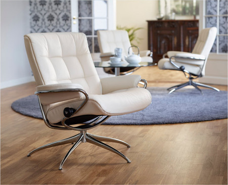 Stressless London Low Back Chair- Coming to 2016 Ekornes Recliners.