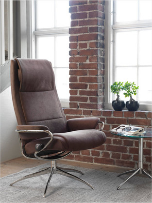 Brown Dinamica Stressless Paris Recliner: Spring 2016 Release