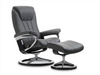Rock Paloma shown on this new Signature Series Stressless Bliss Recliner by Ekornes.