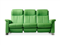 New 2016 Summer Green Paloma Stressless Breeze Sofa by Ekornes of Norway.