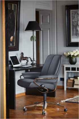 Get the lowest price allowed on your Low Back Stressless City Office Chair by Ekornes.
