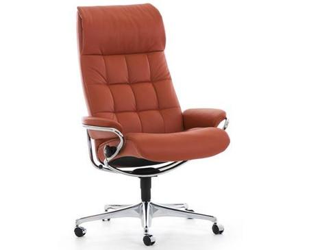 High Back Stressless fice Chair Ekornes London Model