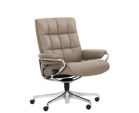 Low Back Stressless Office Chair- Ekornes London Series