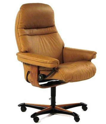 Sunrise Medium Office Chair- Clearance Priced Taupe Paloma Model