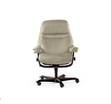 Authorized Discounts on Stressless Sunrise Office Chairs in our Clearance Section.