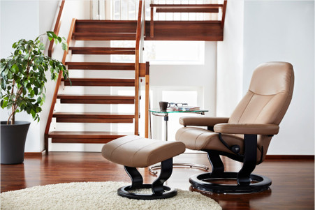 Relax and Unwind in a new Stressless Garda Recliner from Ekornes.