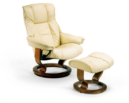 Stressless Chelsea shown in Kitt Paloma.