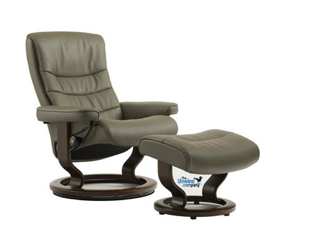 No Matter the decor- This medium Stressless Recliner in the Nordic Series will be a perfect fit. Color does not represent available options.
