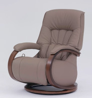 Mosel Recliner by Himolla in Earth leather