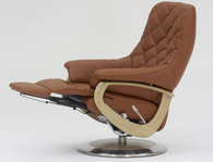 Himolla America with integrated footstool extended- Zerostress from Germany.