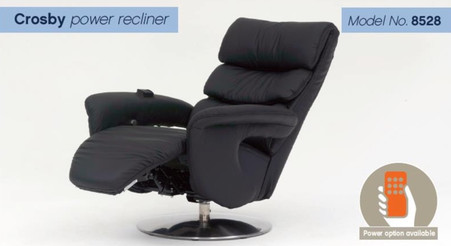 Himolla Crosby Integrated Power Recliner
